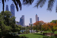 Dubai Safa Park royalty free stock photography