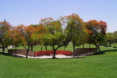 Dubai Safa Park Royalty Free Stock Photo