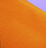 Dubai Sand Dunes Stock Photo