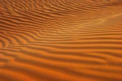 Dubai, sanddune in the desert Stock Photos