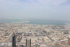 Dubai Sheikh Zayed Road Arkivfoton
