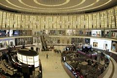 Dubai shopping festival at the dubai mall royalty free stock photo