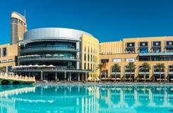 Dubai shopping mall exterior Royalty Free Stock Image