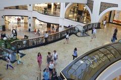 Dubai shopping mall stock images