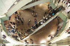 Dubai shoppingfestival på den dubai gallerien Arkivbilder