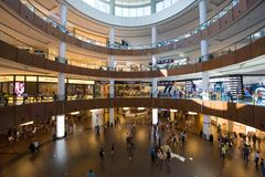 Dubai shoppinggalleria Royaltyfri Bild