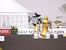 Dubai Showjumping Carnival Stock Photo