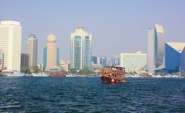 Dubai-Skyline Stockbilder