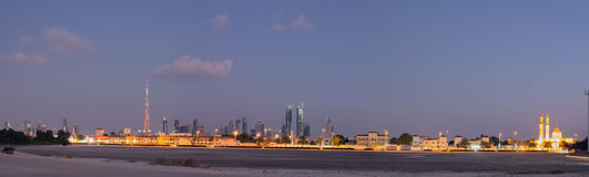 Dubai skyline Stock Photo