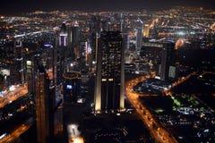 Dubai-Skyline stockbild