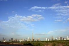 Dubai-Skyline Lizenzfreie Stockfotos