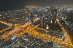 Dubai-Skyline Lizenzfreies Stockbild