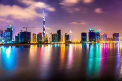 Dubai Skyline Royalty Free Stock Image