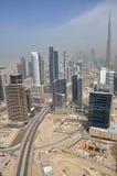 Dubai Skyline with Burj Khalifa Royalty Free Stock Image