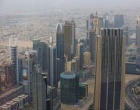 Dubai skyline Royalty Free Stock Images