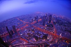 Dubai skyline Royalty Free Stock Photo