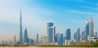Dubai - The skyline of Downtown Royalty Free Stock Image