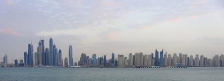 Dubai skyline Royalty Free Stock Image