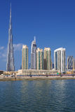 Dubai-Skyline, UAE Stockbilder