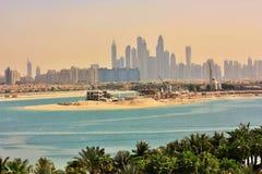 Dubai skyline Stock Images