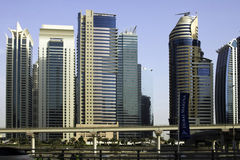 Dubai skyline, United Arab Emirates Royalty Free Stock Image
