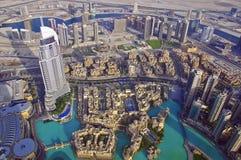 Dubai skyline Stock Photography