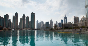 Dubai Skyline Stock Photography