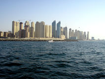Dubai Skyscrapers stock photography
