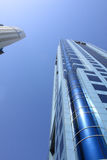 Dubai skyscrapers Royalty Free Stock Photos