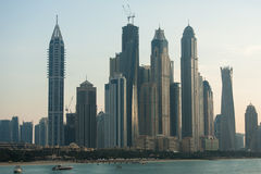 Dubai skyscrapers Royalty Free Stock Photography