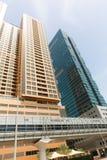 DUBAI Skyscrapers buildings, U.A.E Royalty Free Stock Photography