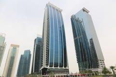 DUBAI Skyscrapers buildings, U.A.E Royalty Free Stock Photos