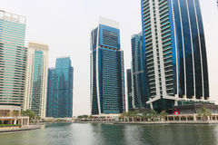 DUBAI Skyscrapers buildings, U.A.E Stock Photo