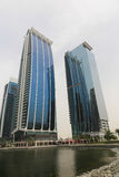 DUBAI Skyscrapers buildings, U.A.E Royalty Free Stock Photo