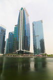 DUBAI Skyscrapers buildings, U.A.E Stock Images