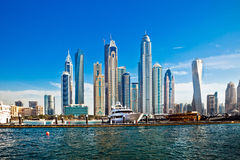 Dubai skyscrapers, UAE Royalty Free Stock Photo