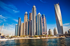 Dubai skyscrapers, UAE Royalty Free Stock Photos