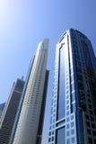 Dubai skyscrapers, united arab emirates Royalty Free Stock Photo