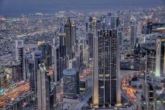 Dubai skyskrapa Royaltyfri Fotografi