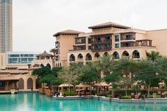 Dubai slotthotell Fotografering för Bildbyråer