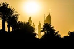 Dubai Sommar 2016 konstruktion dubai royaltyfria bilder