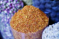 Dubai Spice Souk Royalty Free Stock Photography