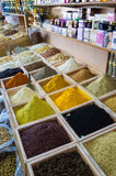 Dubai spices suk Royalty Free Stock Images