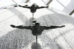 dubai springbrunn Royaltyfri Fotografi