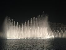 Dubai springbrunnar UAE Arkivfoto
