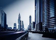 Dubai stad Royaltyfri Foto