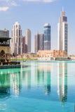 Dubai-Stadt Stockfoto