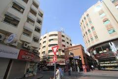 Dubai-Straßen-Ansicht Stockfotografie
