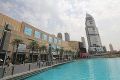 Dubai-Straßen-Ansicht Stockfoto