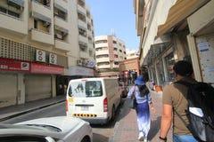 Dubai-Straßen-Ansicht Stockbild
